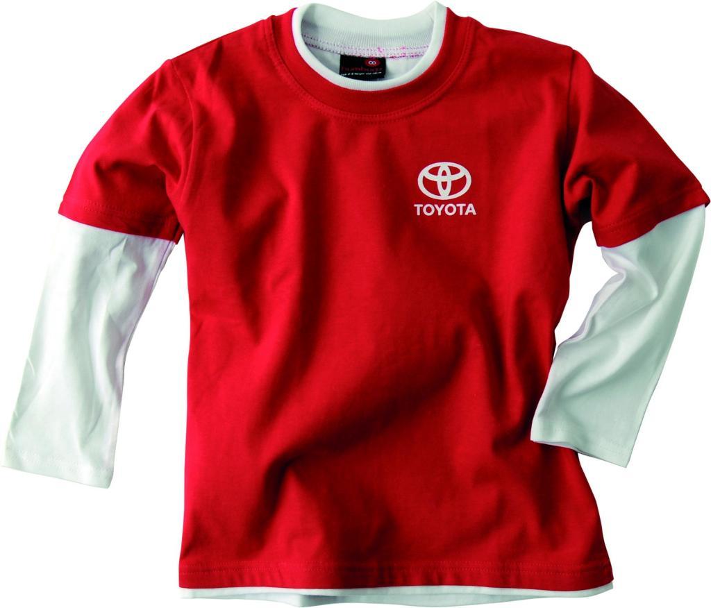 Toyota-Kollektion: Langarmshirt für Kinder.