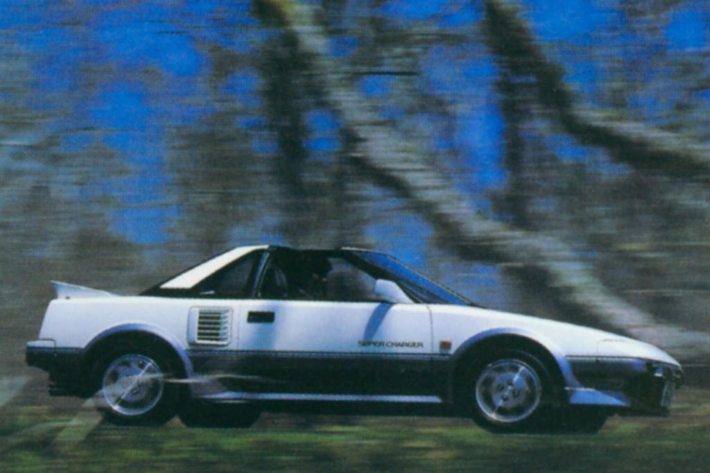 Toyota MR2 Supercharged, 1986