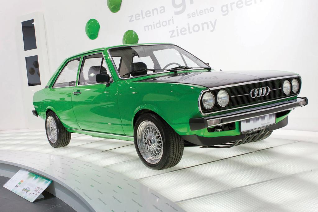 Typisch deutsch? Auch heute noch präsentieren die Ingolstädter ihre automobile Geschichte in eher sterilem Umfeld.