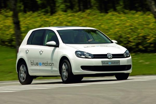 Volkswagen Golf Blue-E-Motion gewann Future Car Challenge