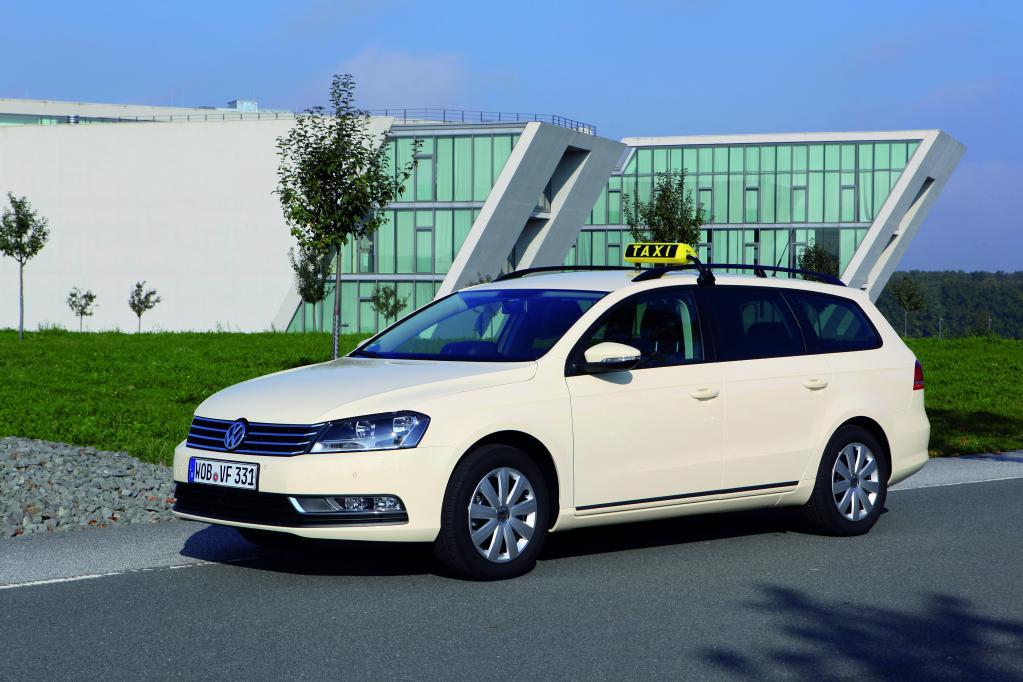 Volkswagen Passat Variant als Taxi.