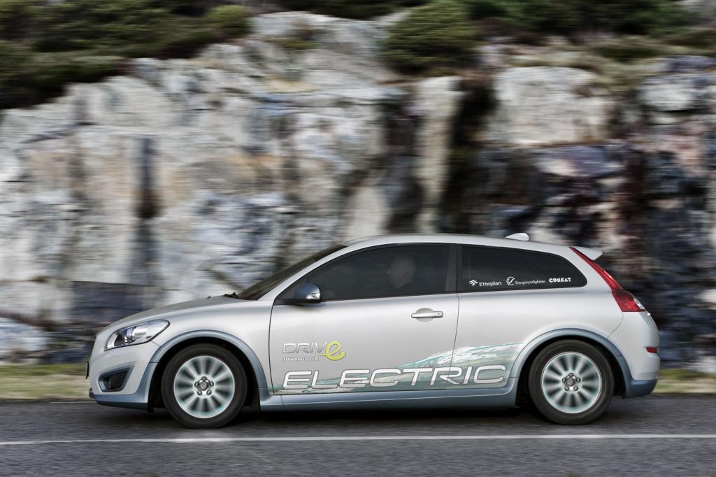 Volvo C30 Drive Electric - E-Auto in der Warteschleife