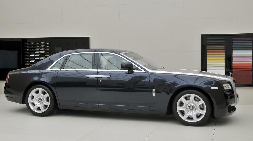 Von Januar bis September des Jahres 2010 wurden genau 0 Rolly Royce an Frauen verkauft - liegts am Macho-Image?