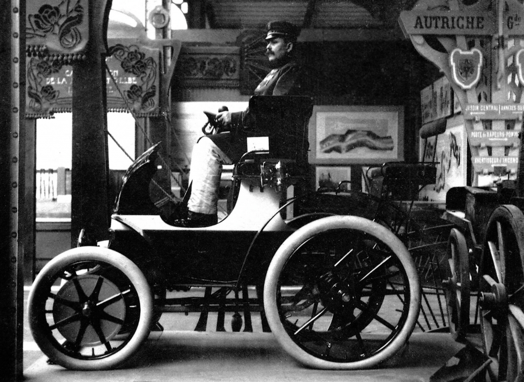 Vor 110 Jahren: Lohner-Porsche mit elektrischem Radnabenantrieb auf der Weltausstellung in Paris