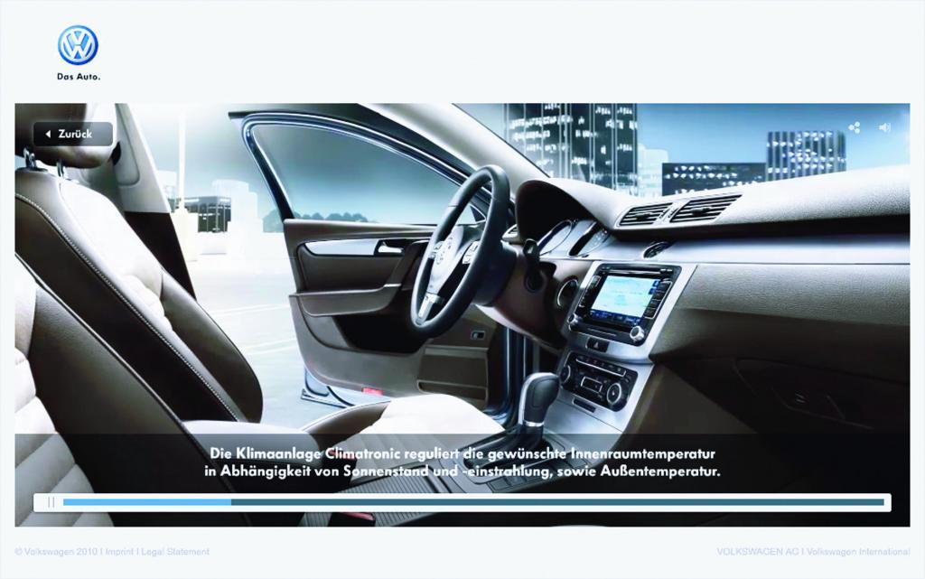 """Werbekampagne für den neuen Volkswagen Passat: """"Mehr als eine Idee voraus"""""""