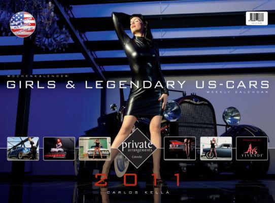 auto.de-Weihnachts-Gewinnspiel: Girls & legendary US-Cars 2011 – 52 Mädchen mit Motoren