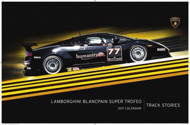 auto.de-Weihnachts-Gewinnspiel: Lamborghini Blancpain Super Trofeo Calender 2011
