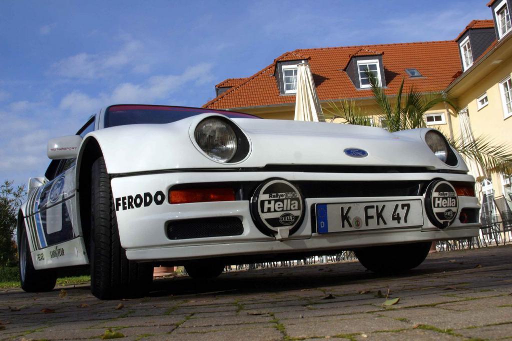 25 Jahre Ford RS200: Kölner Technik-Highlight