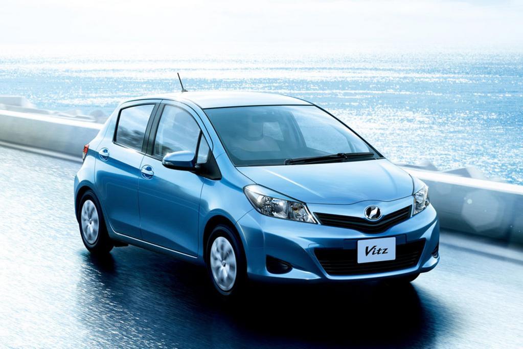 Aggressives Gesicht für neuen Toyota Yaris?