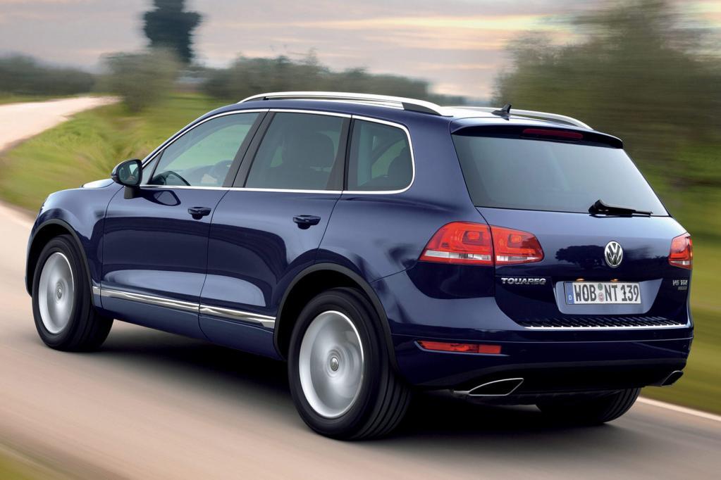 Auch der VW Touareg hat einen Preis gewonnen.
