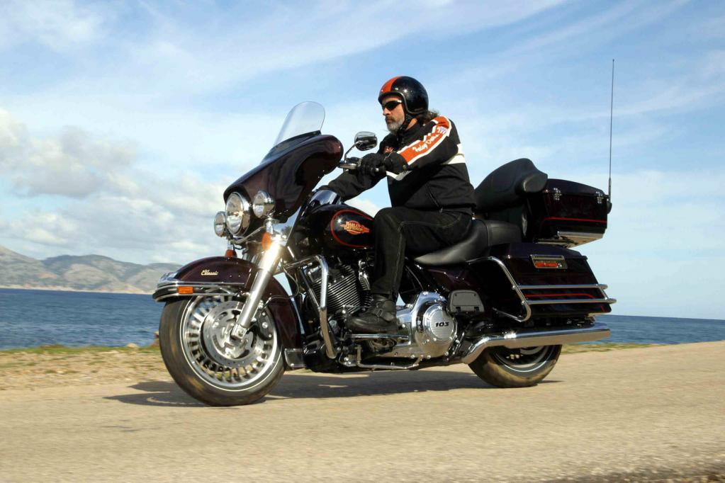 Auch die Harley-Davidson Electra Glide Classic findet sich wieder im Modellprogramm der US-Kultmarke.