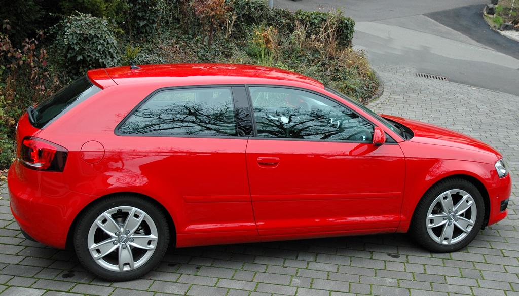 Audi A3 Diesel: Und so sieht der A3-Dreitürer von der Seite aus.