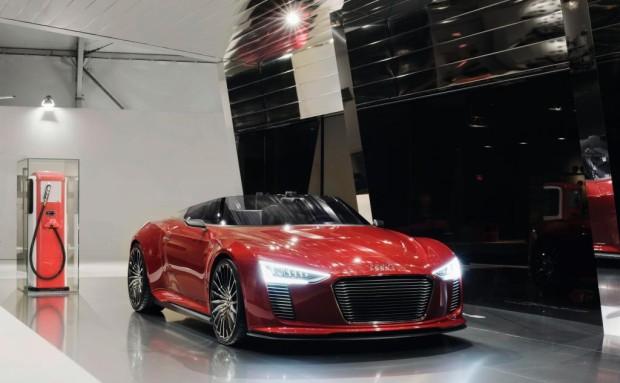 Audi- Vision auf der Design Miami: E-Tankstelle als Wohlfühl-Oase