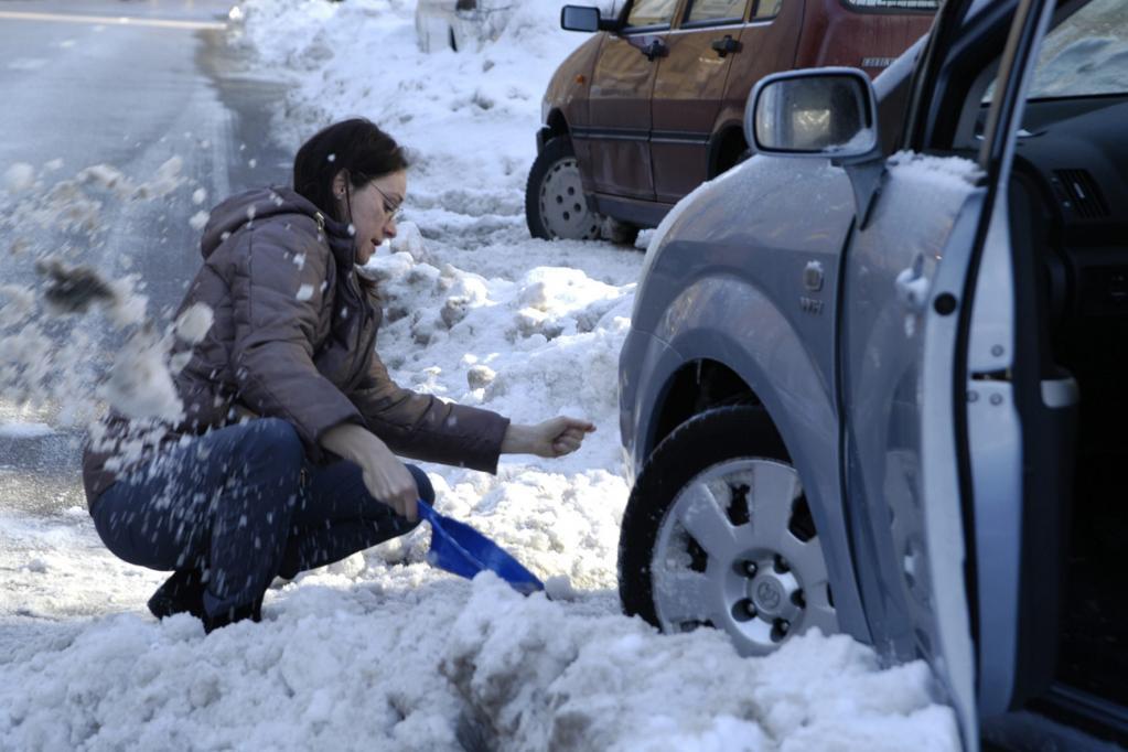 Befreiung aus der Schneefalle