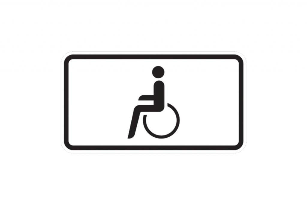 Behinderten-Parkplatz - Nur noch mit EU-Ausweis