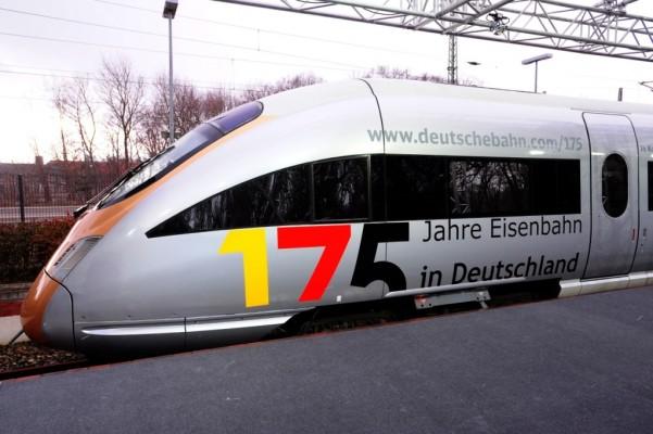 Bund und Bahn feiern 175 Jahre Eisenbahn in Deutschland