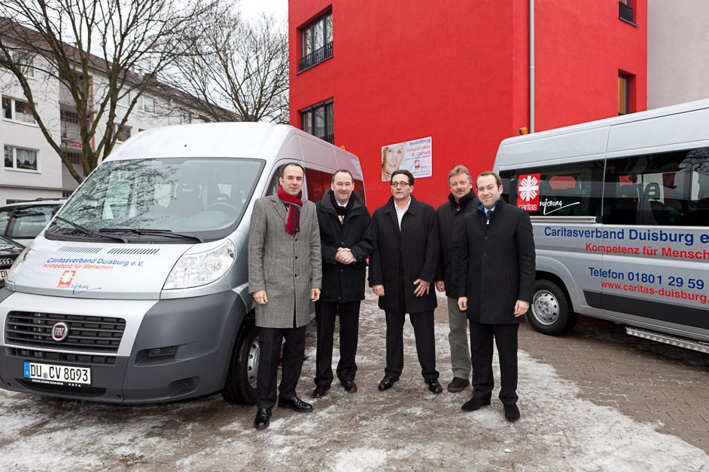 Caritas Duisburg übernimmt zwei weitere Fiat