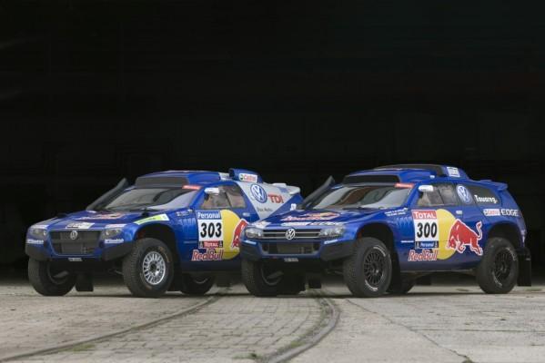 Dakar 2011: Volkswagen hat den Service vorbereitet