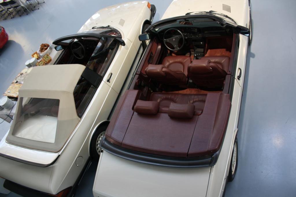 Das Targa-Modell von Mellberg basierte auf dem Combi-Coupe.