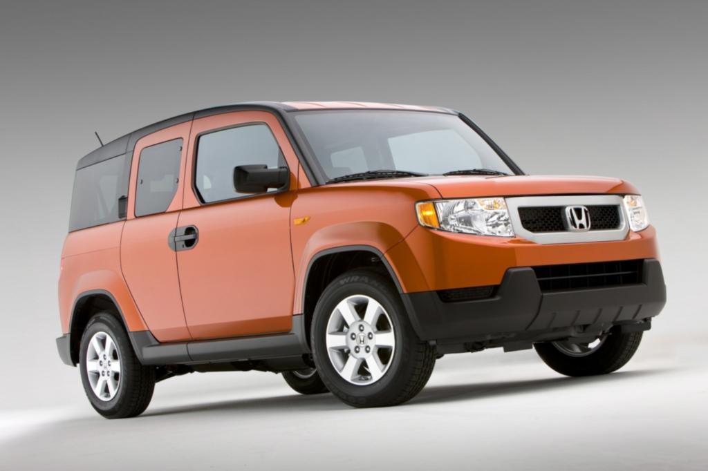 Das ungewöhnliche Desing des Honda Element missfiel den Forbes-Fachleuten