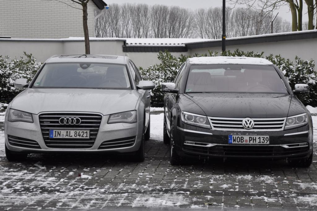 Das ungleiche Paar im Schnee - gleicher Antrieb, aber große Unterschiede in der Praxis