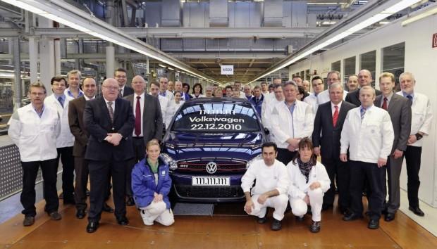 Der 111 111 111ste Volkswagen lief vom Band
