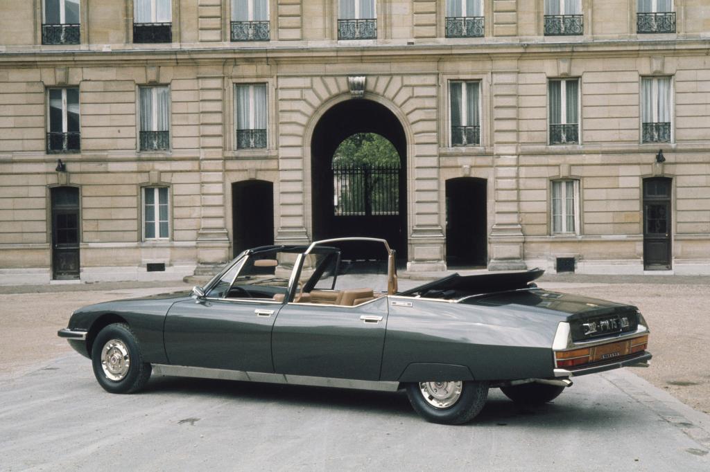 Der Citroen SM Présidentielle wurde von Chapron für den französischen Staat gebaut