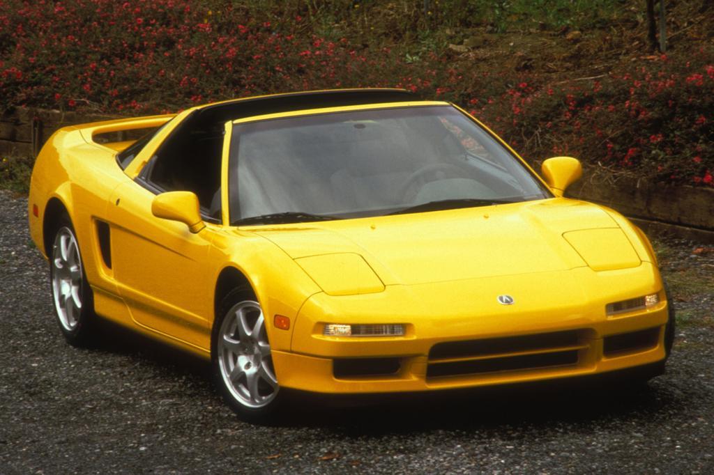Der Honda NSX war eines der letzten Autos mit Klappscheinwerfern