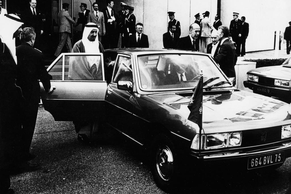 Der Peugeot 604 diente unter anderem Präsident Giscard d'Estaing als Fortbewegungsmittel