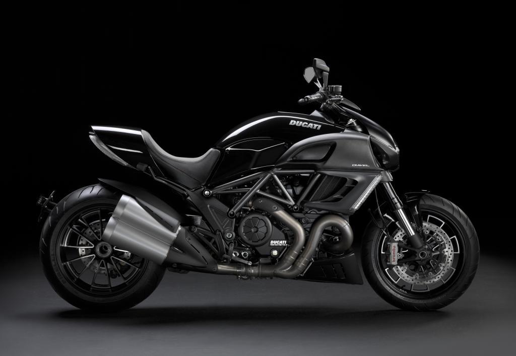 Ducati Diavel kommt in Schwarz statt in Weiß