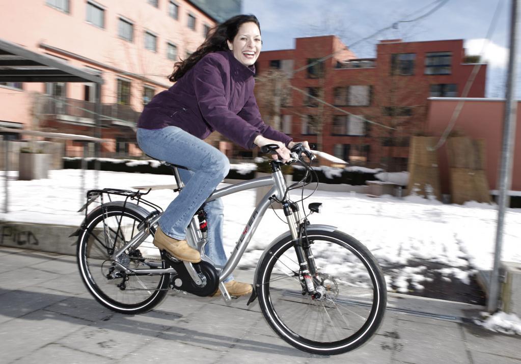 E-Bike fahren auch im Winter