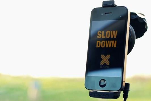 Eine App zur Geschwindigkeitsbegrenzung