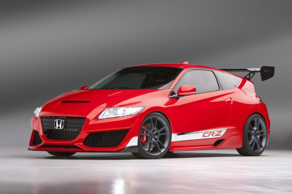 Honda CR-Z - Hybrid raus, Turbo rein