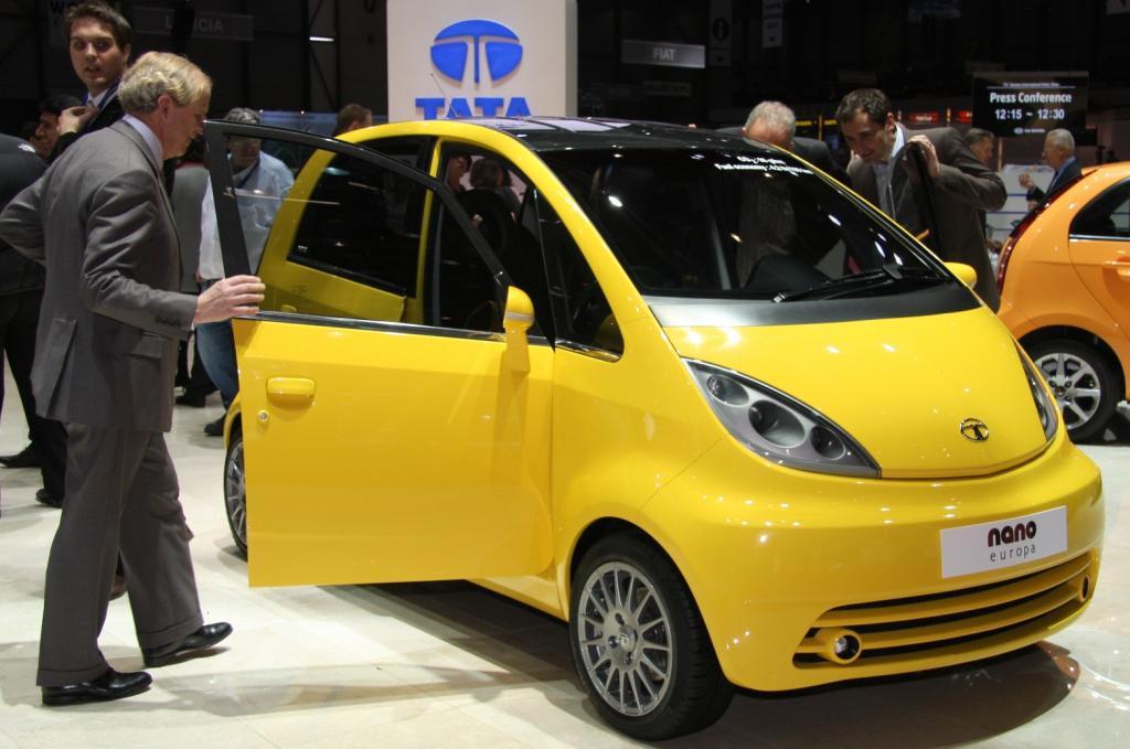 Keine Schönheit, dafür extrem billig: Der Tata Nano