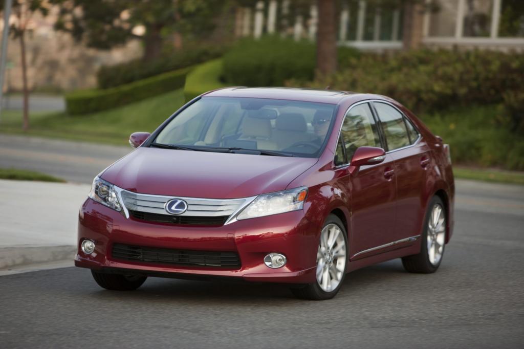 Leistung und Verbrauch des Edel-Hybriden Lexus HS konnten nicht überzeugen
