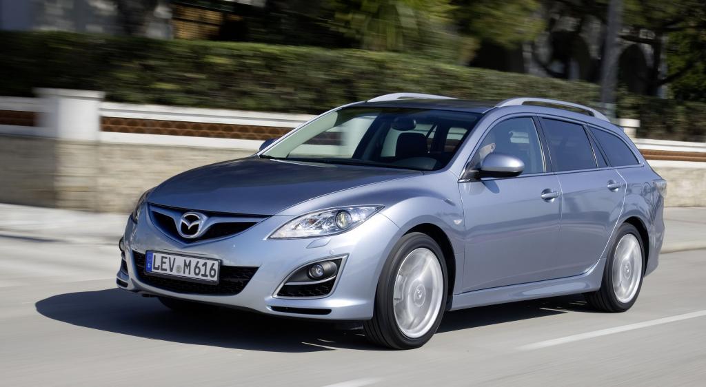 Mazda 6 bester Mittelklasse-Kombi für den Fuhrpark