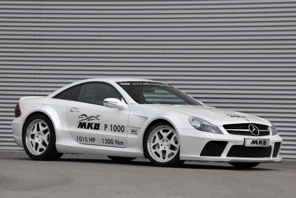 Mercedes-Benz AMG SL von MKB über 350 km/h schnell