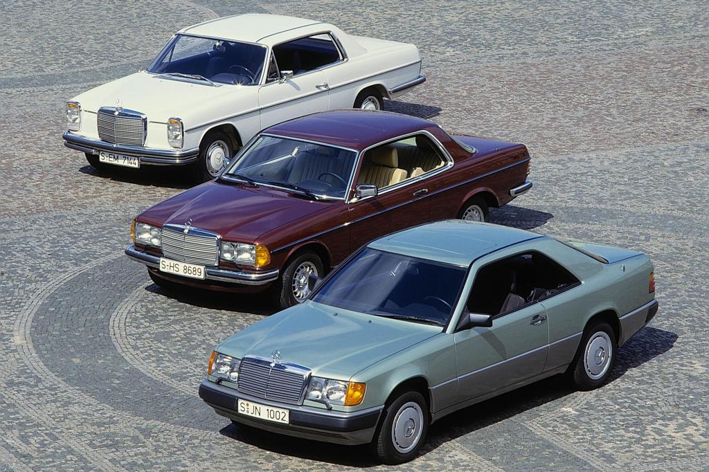 Mercedes-Benz Coupés 114 und 123 und 124