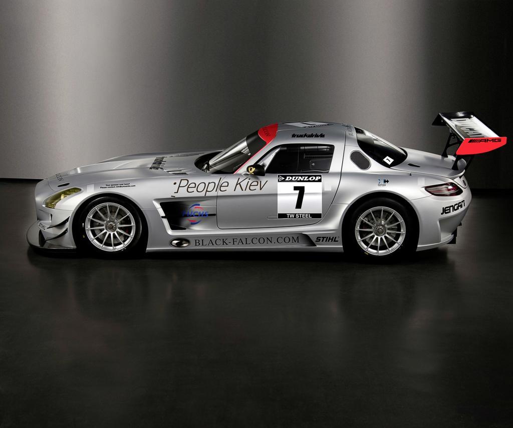 Mercedes-Benz SLS AMG GT3.