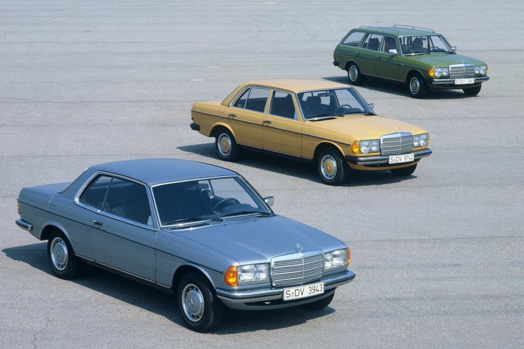 Mercedes-Benz W 123 Modellpalette