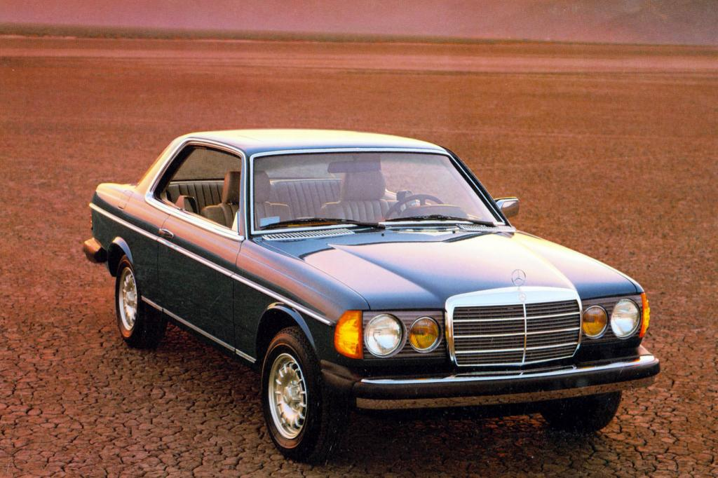Mercedes-Benz W123 Coupe ab 1977