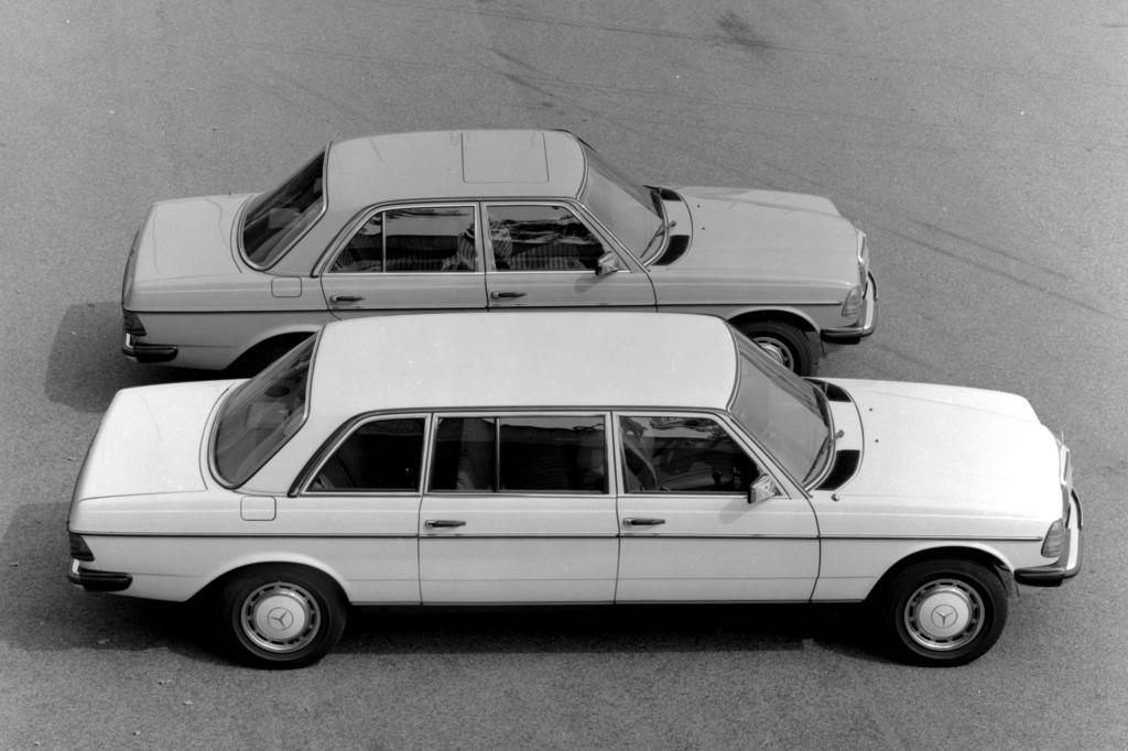 Mercedes-Benz W123 Normalversion und Langversion