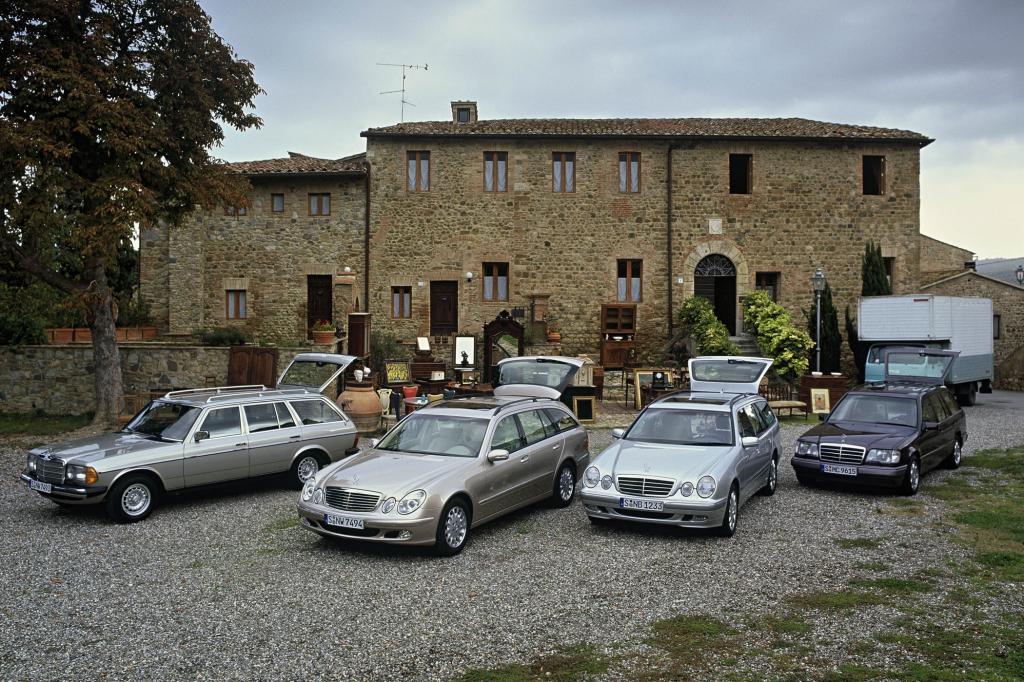 Mercedes-Benz W123 T-Modell und Nachfolger
