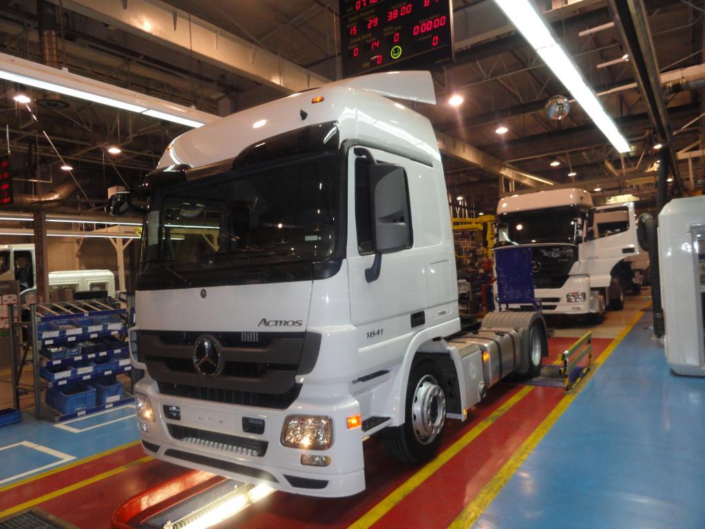 Mercedes-Benz startet Produktion des Actros in der Türkei
