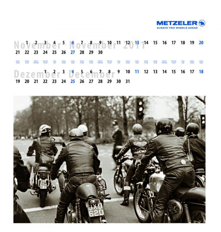 Metzeler-Kalender 2011.