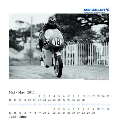 Metzeler bringt Classic-Kalender