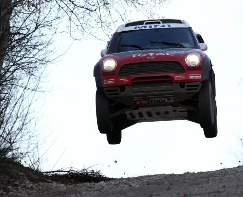 Mini All4 Racing auf dem Weg zur Dakar