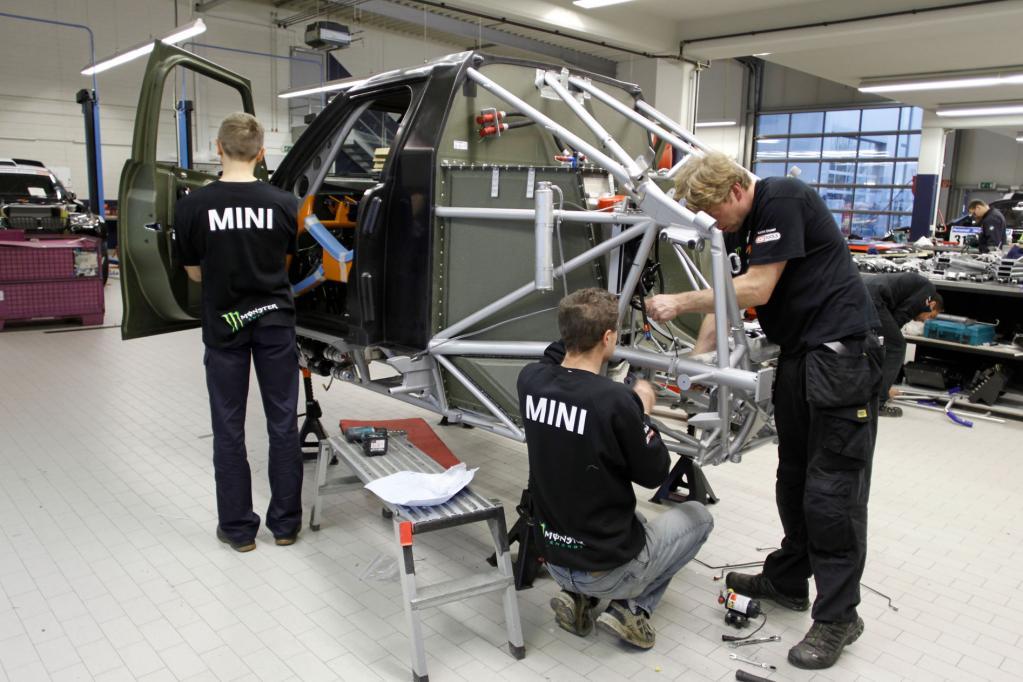 Mini vom X-raid-Team für Dakar 2011.