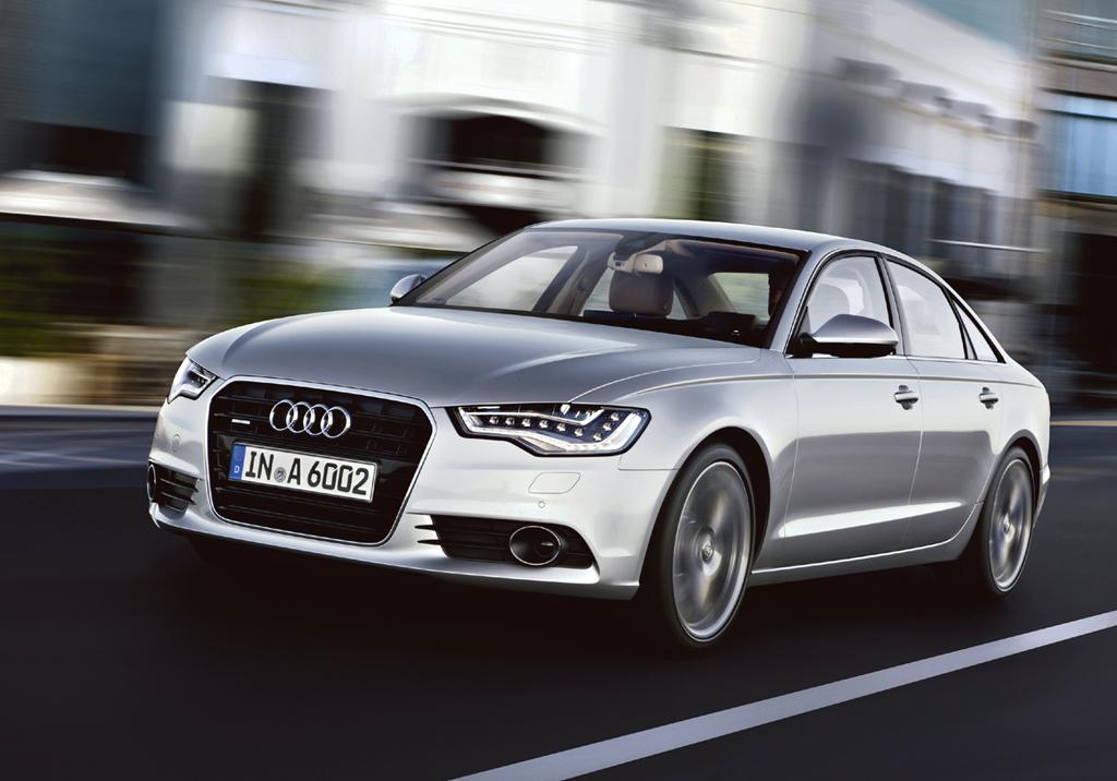 Neu in 2011: Audi A6, hier als Limousine.