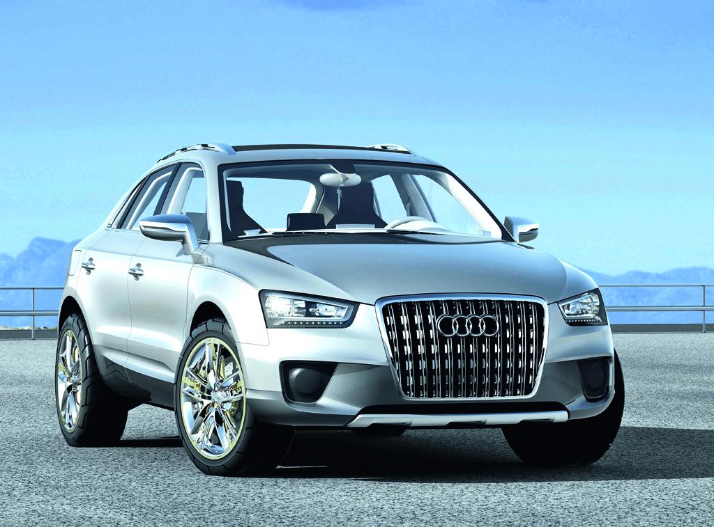 Neu in 2011: Audi Q3, hier noch als Cross-Coupé-Quattro-Studie.